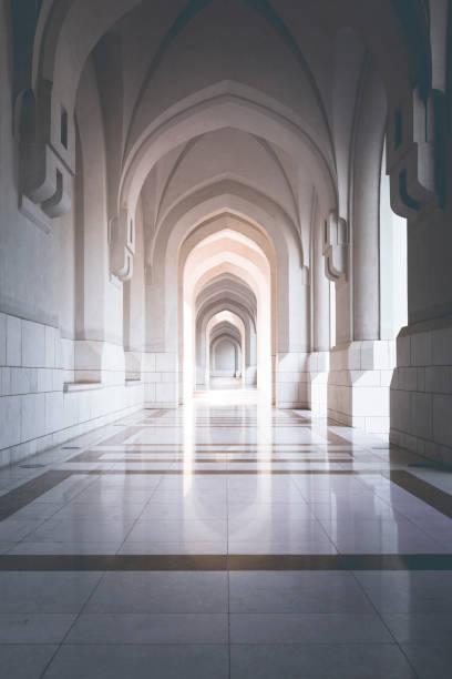 traditionella archway i muscat, oman - palats bildbanksfoton och bilder
