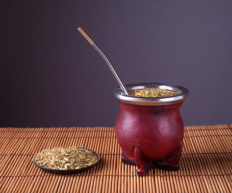 Traditional Argentinian mate.