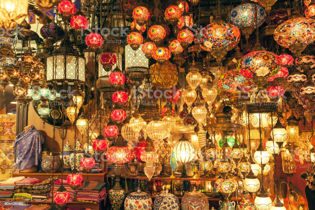 Traditional Baazar In Istanbul stock photo