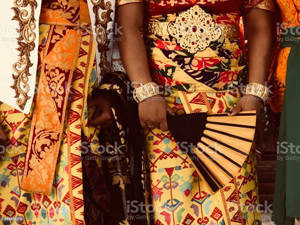 Traditional Balinese Clothing Stock Photo More Pictures Of Adult