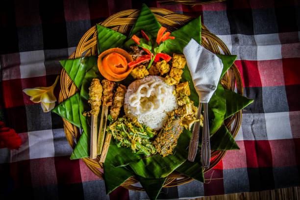 Traditionelles balinesisches Essen – Foto
