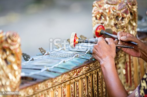 Traditional Balinese music instrument