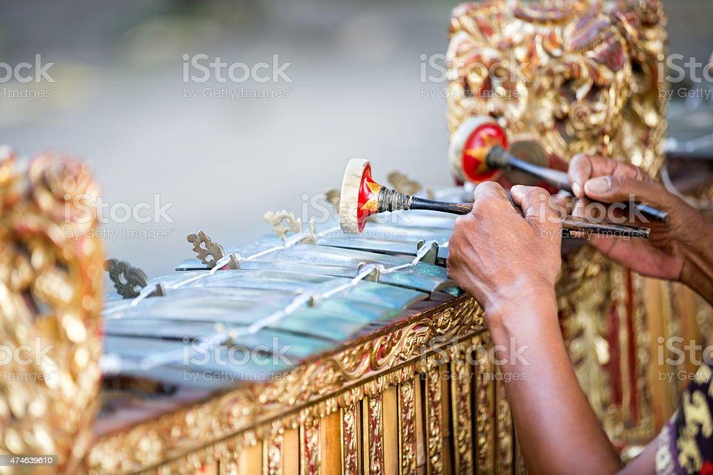 Traditionelle balinesische Musik instrument – Foto