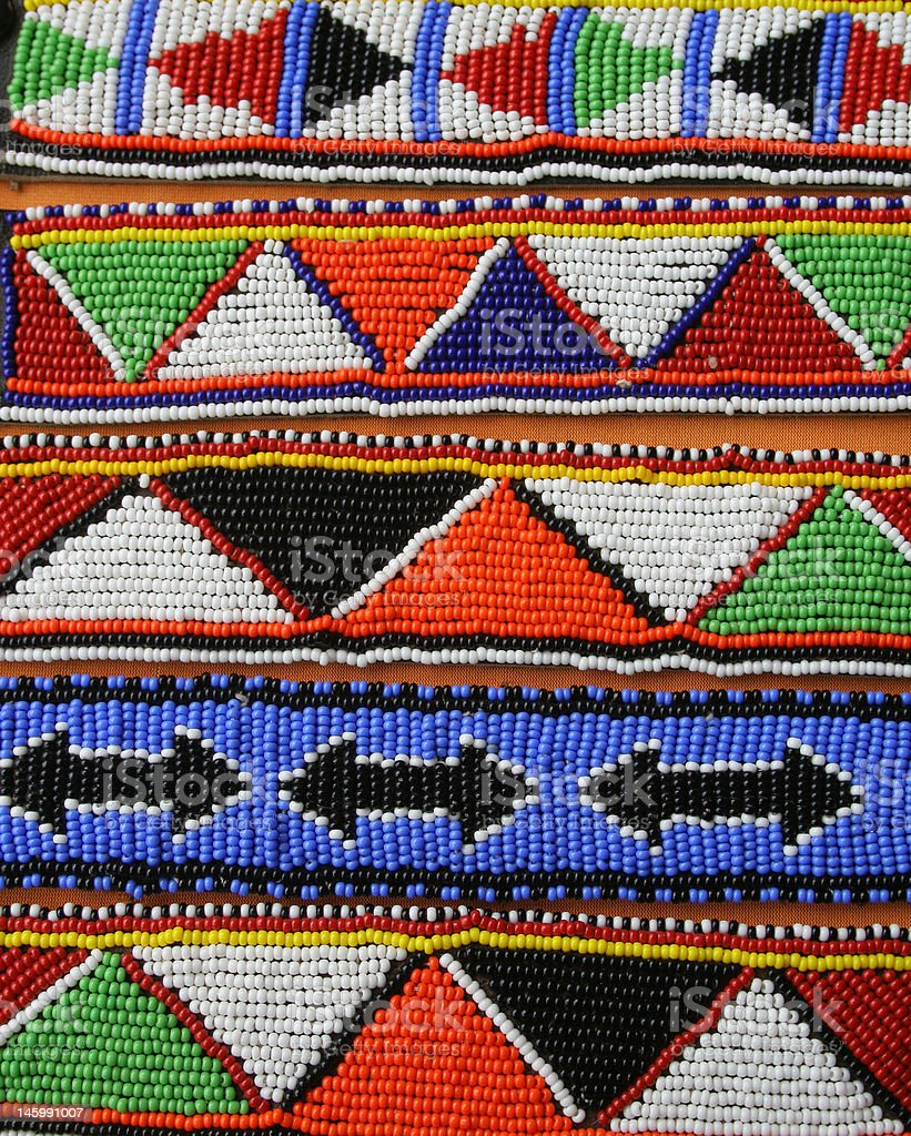 Traditional beads royalty-free stock photo