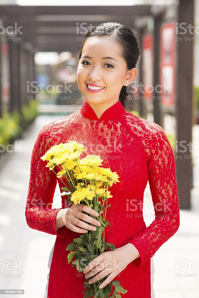 Traditional beauty stock photo