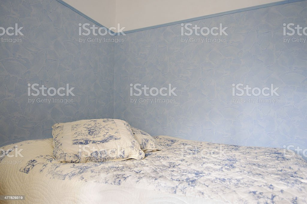 Traditional bedroom royalty-free stock photo