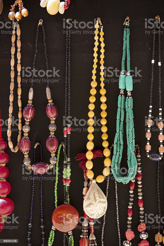 traditional berber neckless royalty-free stock photo