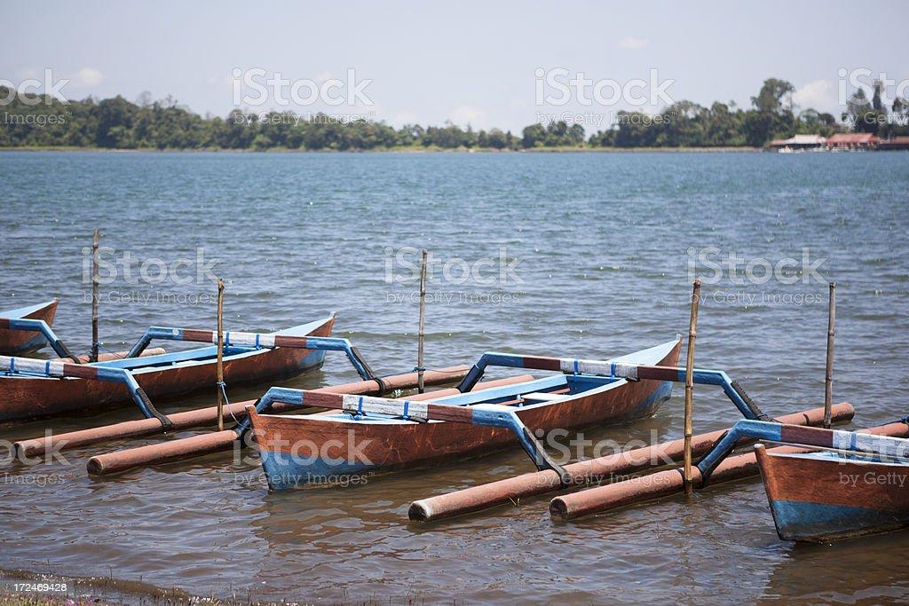 Traditional Boats stock photo