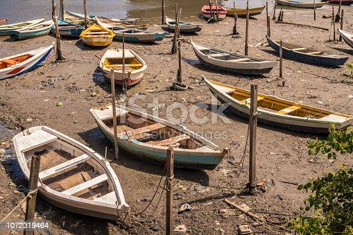 Sea, Fishing Boat Water, Brazil, Anchored
