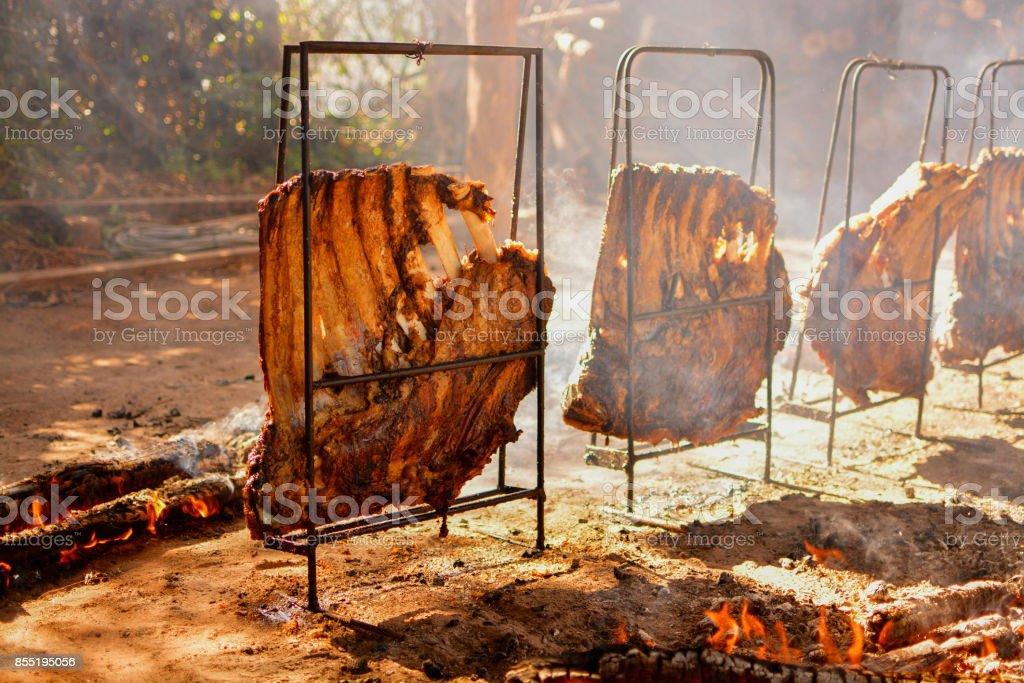 Traditionelle Brasilianische Südlichen Grill Namens