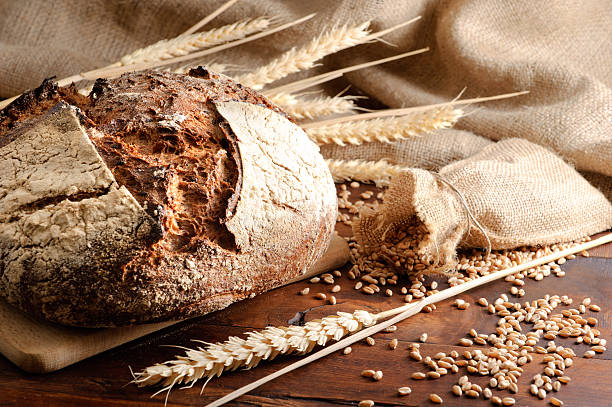 Traditional bread Close-up on traditional bread. bread stock pictures, royalty-free photos & images