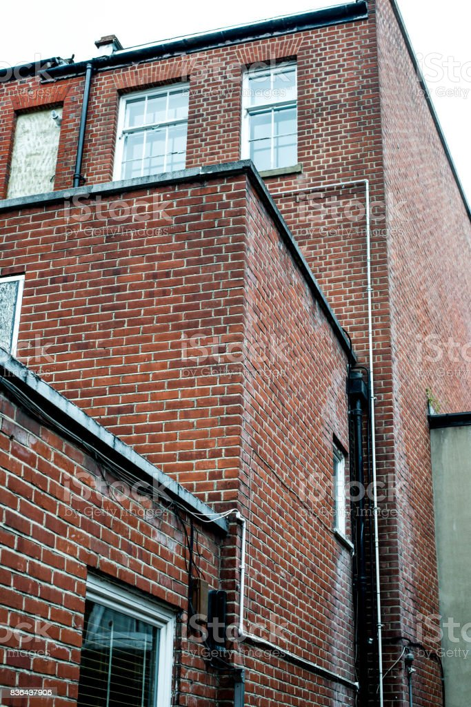 Traditional Brick Built Building In London stock photo