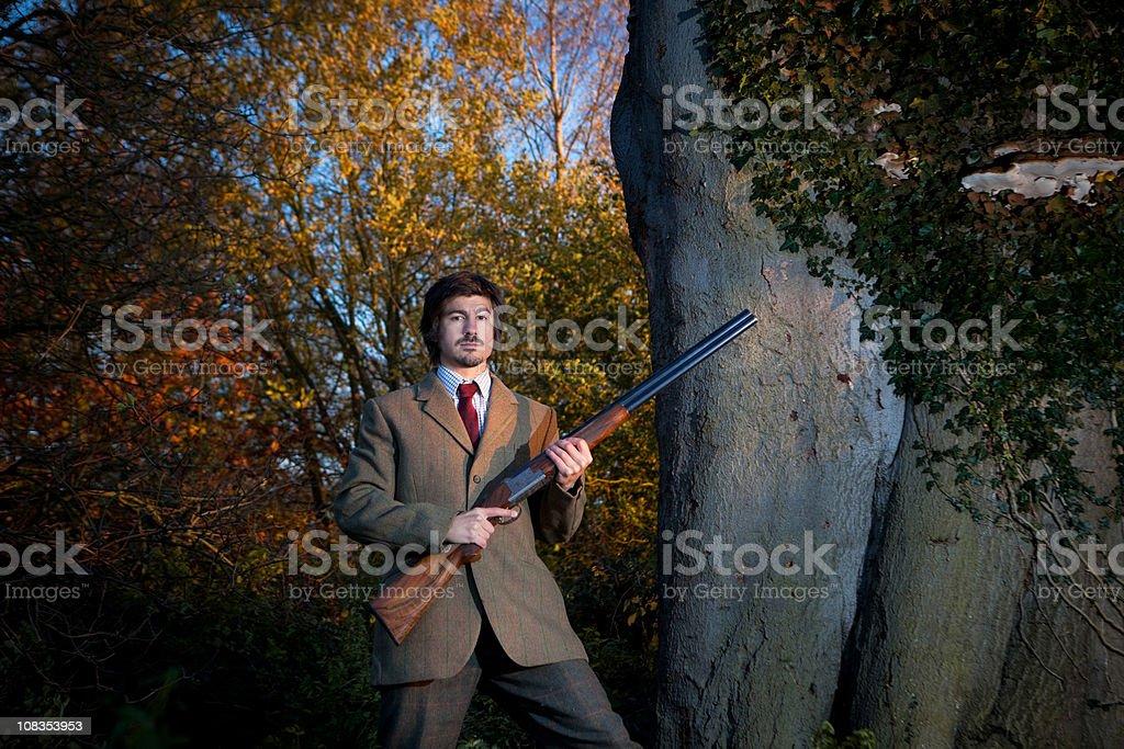 Traditional British Gentleman stock photo