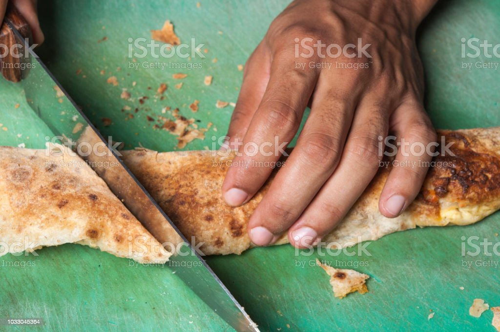 traditional Bulgarian home-baked Banitsa stock photo