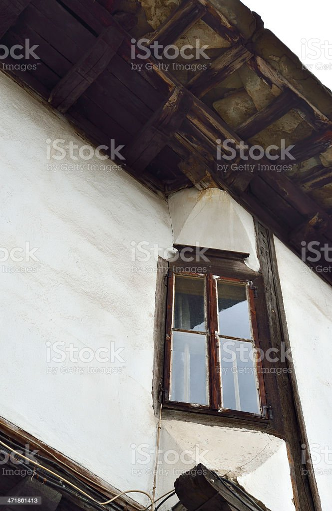 Traditional Bulgarian house detail royalty-free stock photo