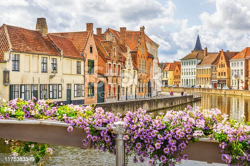 Bruges, the capital of West Flanders in northwest Belgium, is distinguished by its canals, cobbled streets and medieval buildings.