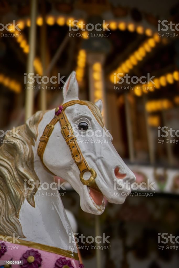 Traditional Carousel Merrygoround Horse Stock Photo Download Image Now Istock