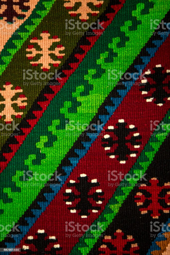 Traditional carpet designs royalty-free stock photo