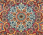 Traditional carpet detail