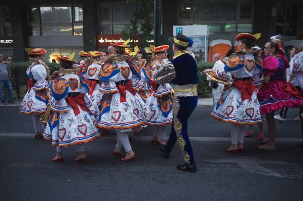 Traditionelle Feiern in Lissabon – Foto