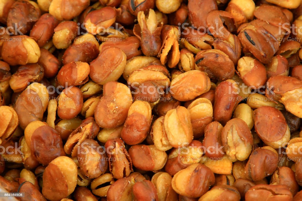 Traditional Chinese characteristics snacks, beans, closeup of photo royalty-free stock photo