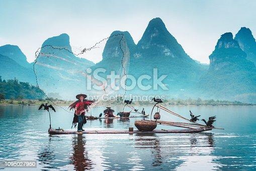 Traditional Chinese Fisherman, Li River