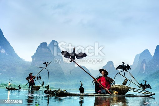 Traditional Chinese Fisherman, Li River