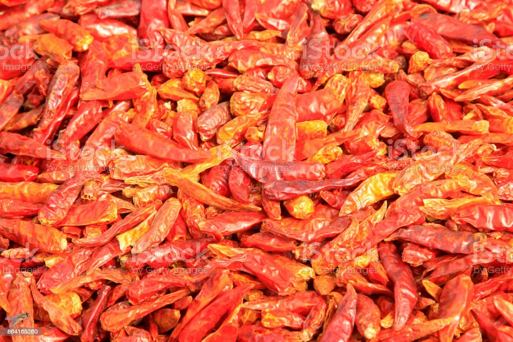 traditional Chinese flavor condiments chili, closeup of photo royalty-free stock photo