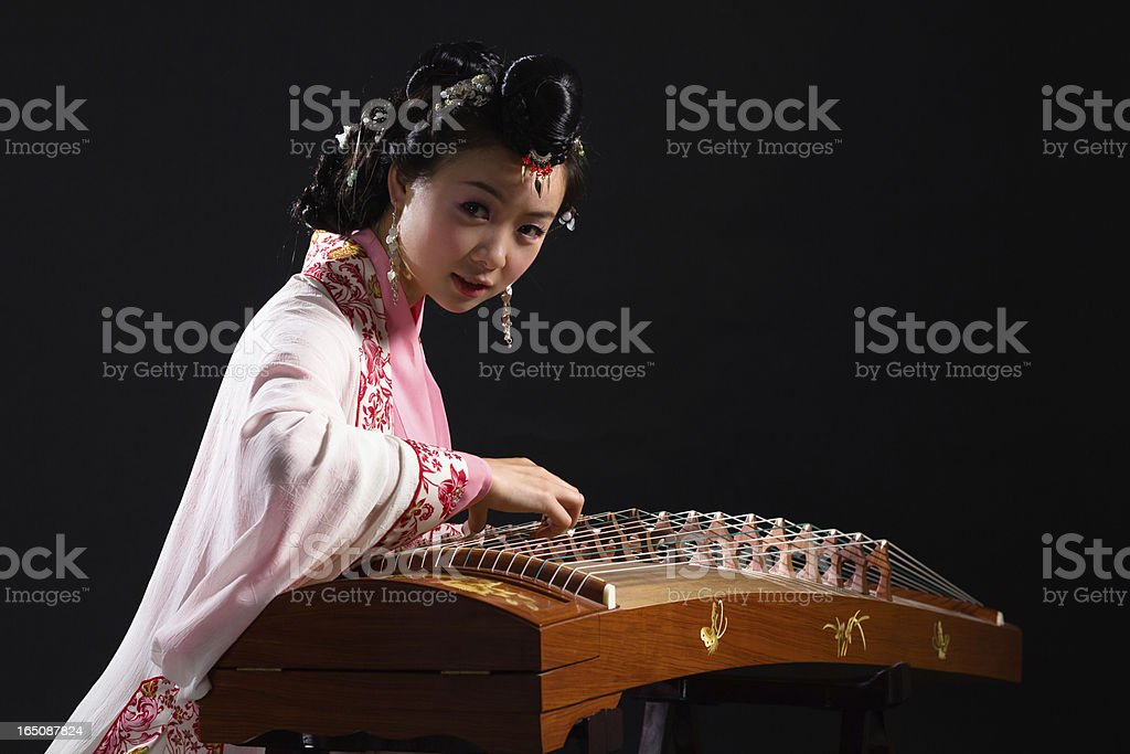 Traditional Chinese Girl stock photo