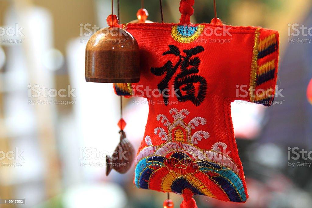 Traditional Chinese handcraft - Sachet royalty-free stock photo