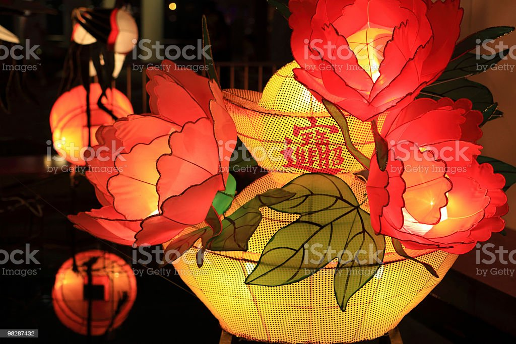 Traditional Chinese Lantern royalty-free stock photo