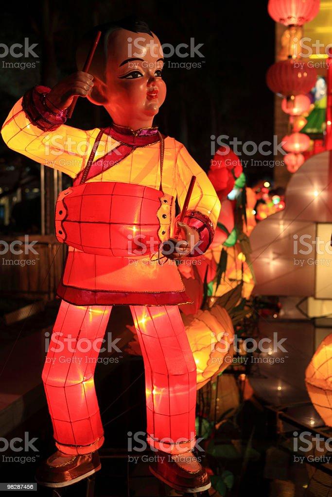대만어에 등불 royalty-free 스톡 사진