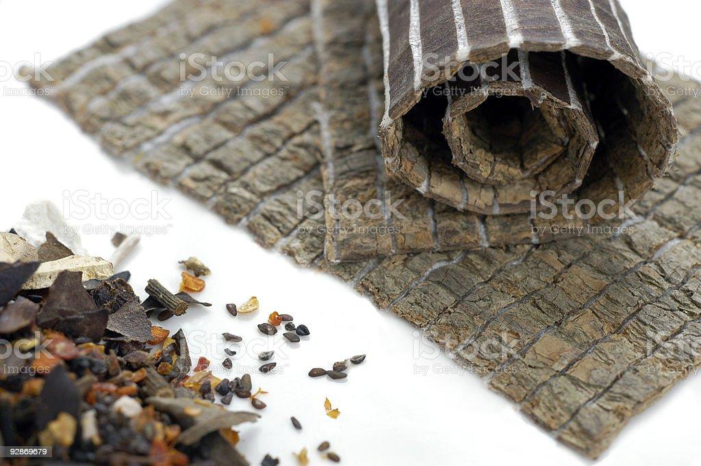 Traditional Chinese Medicinal Herbs 3 royalty-free stock photo
