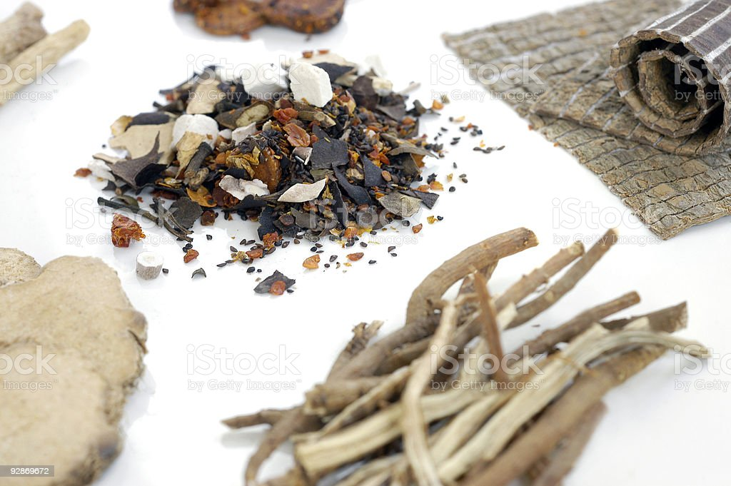 Traditional Chinese Medicine 1 royalty-free stock photo