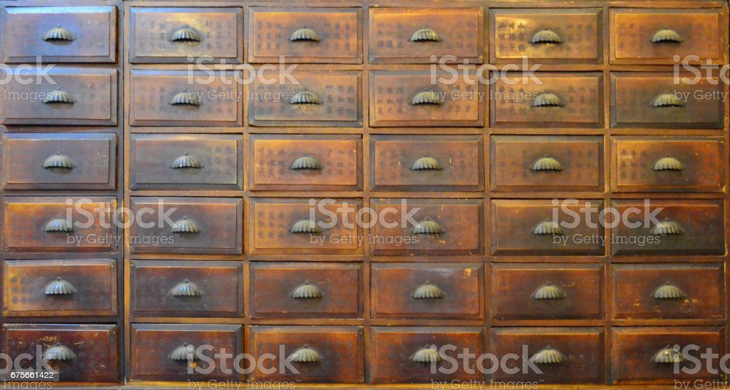 Ordinaire Traditional Chinese Medicine Cabinet Stock Photo U0026 More Pictures Of Ancient  | IStock