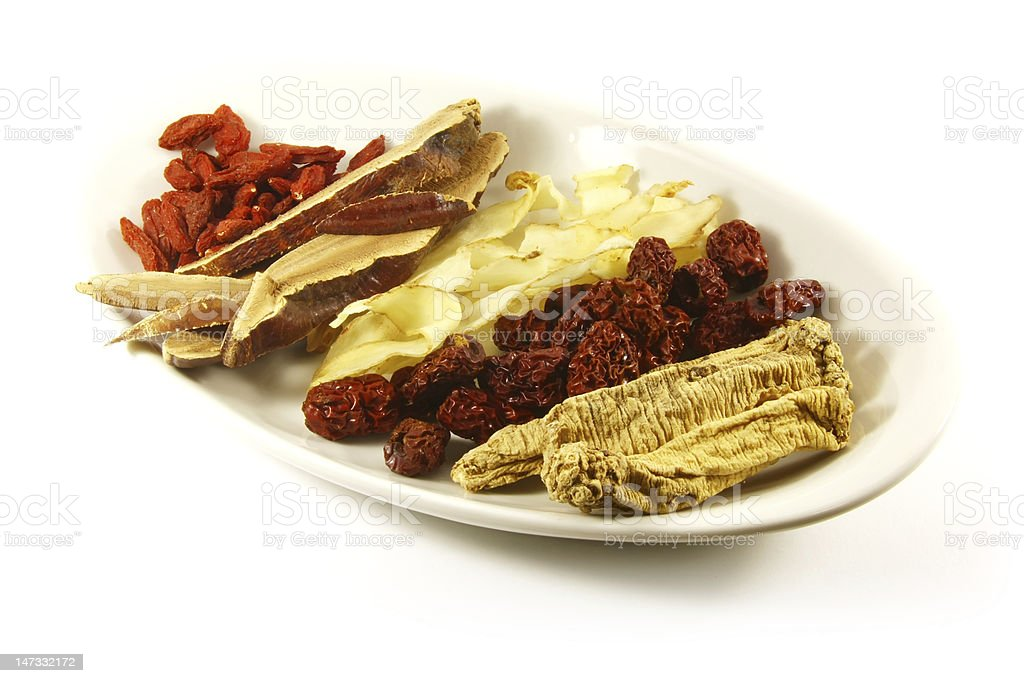 Traditional Chinese Medicine royalty-free stock photo