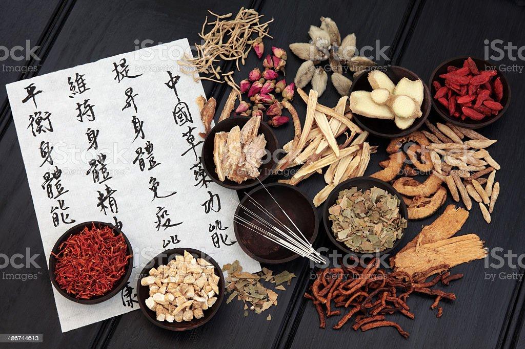 Traditionelle chinesische Medizin – Foto