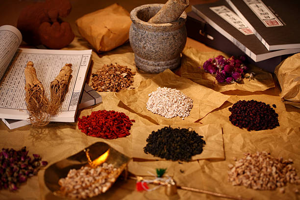 Traditional Chinese Medicine Traditional Chinese Medicine chinese herbal medicine stock pictures, royalty-free photos & images
