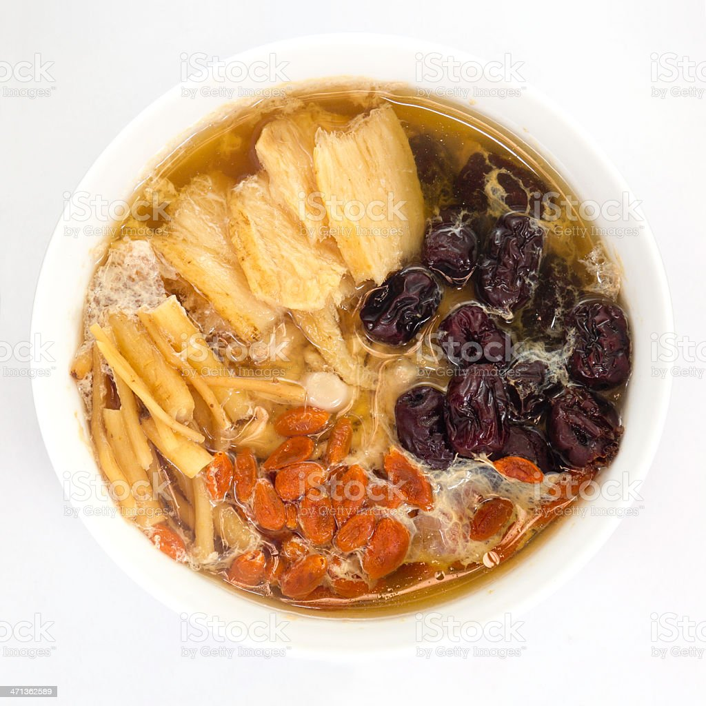 Traditional Chinese Soup royalty-free stock photo