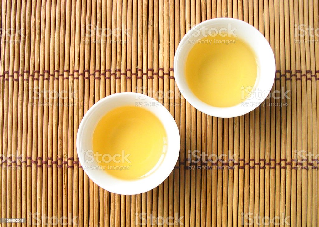 traditional chinese tea service royalty-free stock photo
