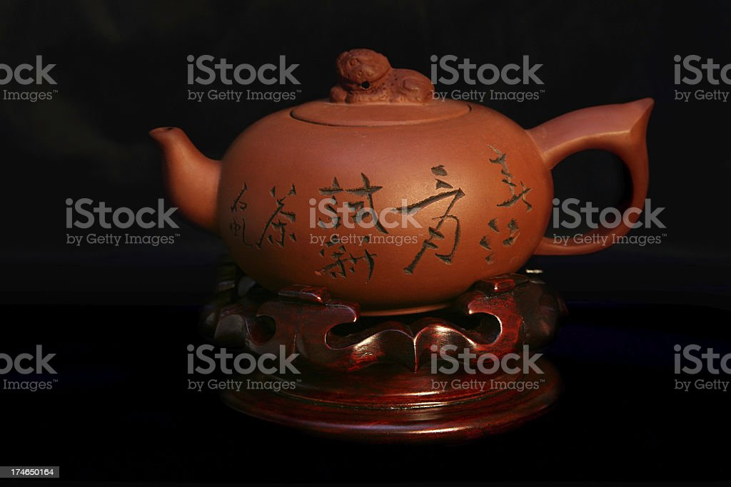 Traditional Chinese Teapot royalty-free stock photo