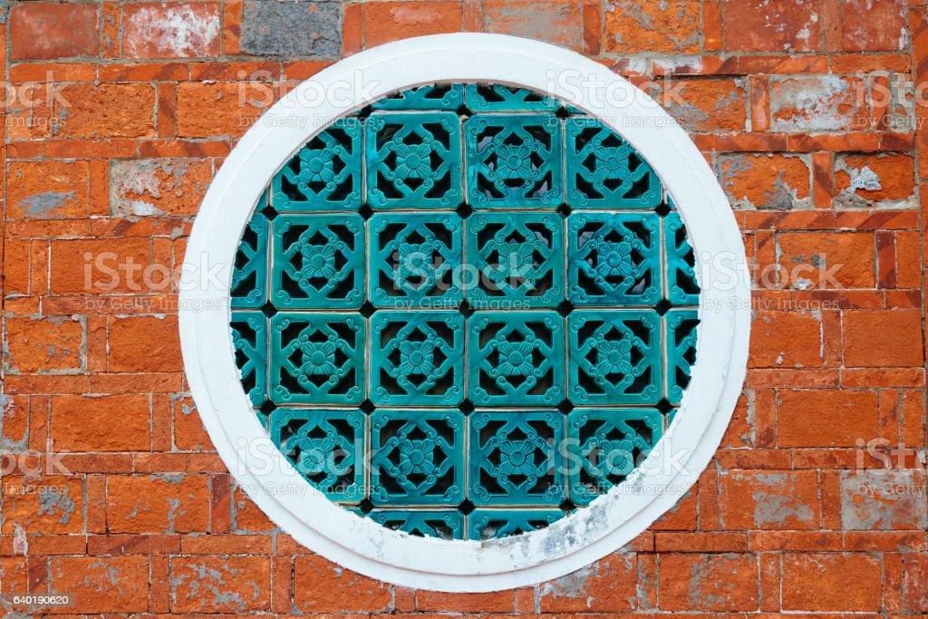 Traditional Chinese Window Pattern stock photo