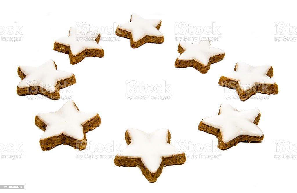 Tradizionale Natale biscotti foto stock royalty-free