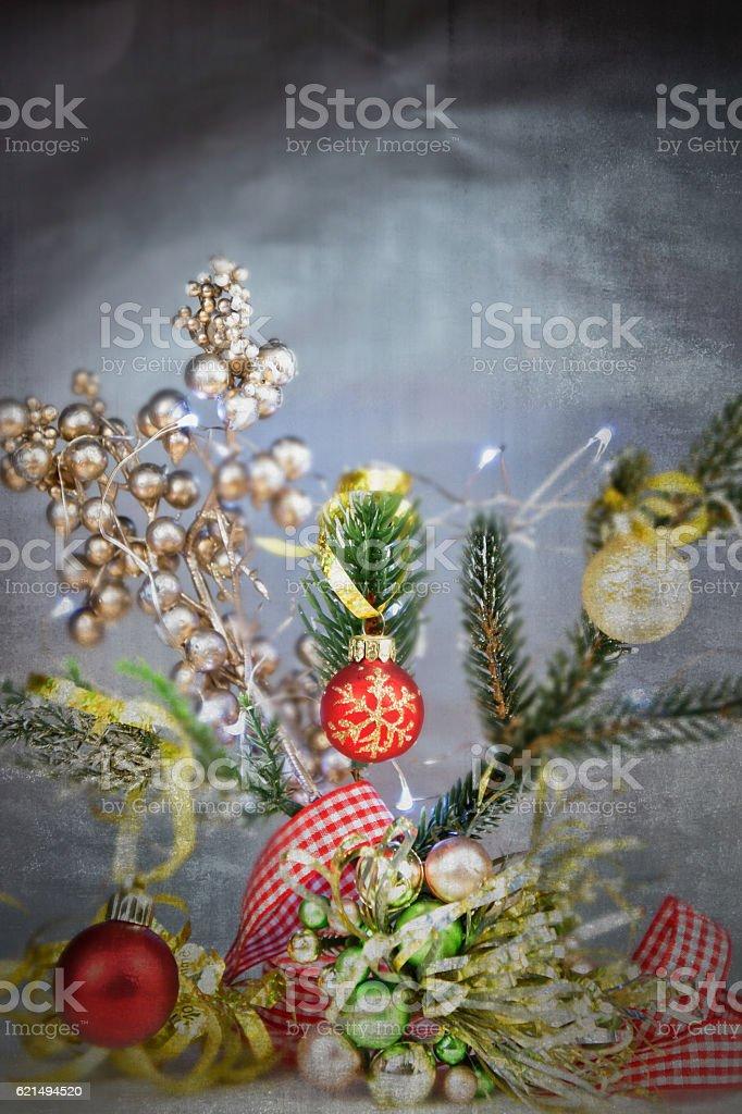 Traditional Christmas  decorations photo libre de droits