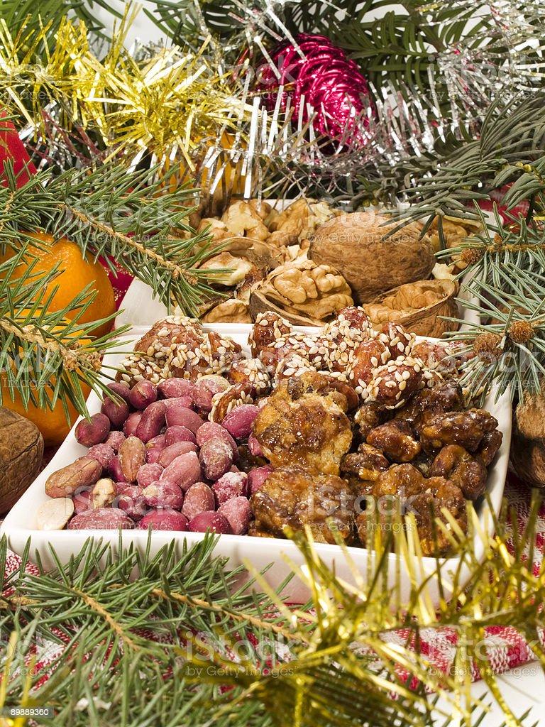 Traditional Christmas Food royalty-free stock photo