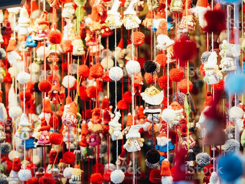 Traditionelles Weihnachts-Ornamenten Lizenzfreies stock-foto