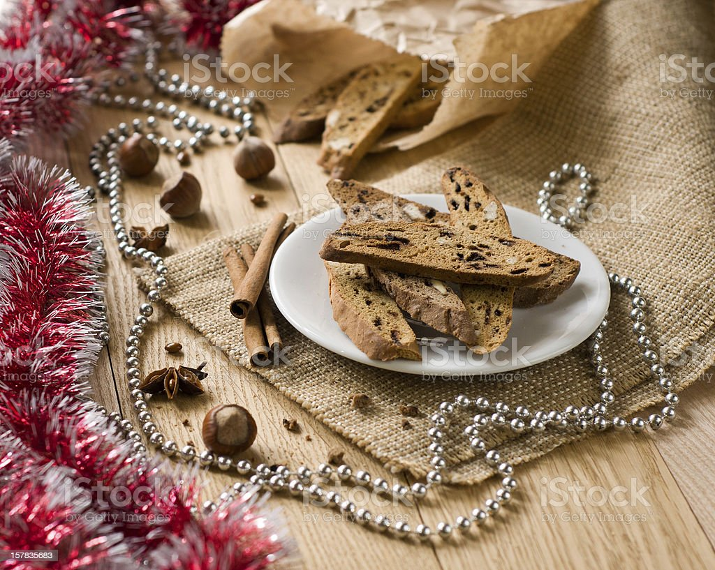 traditional Christmas sweet royalty-free stock photo