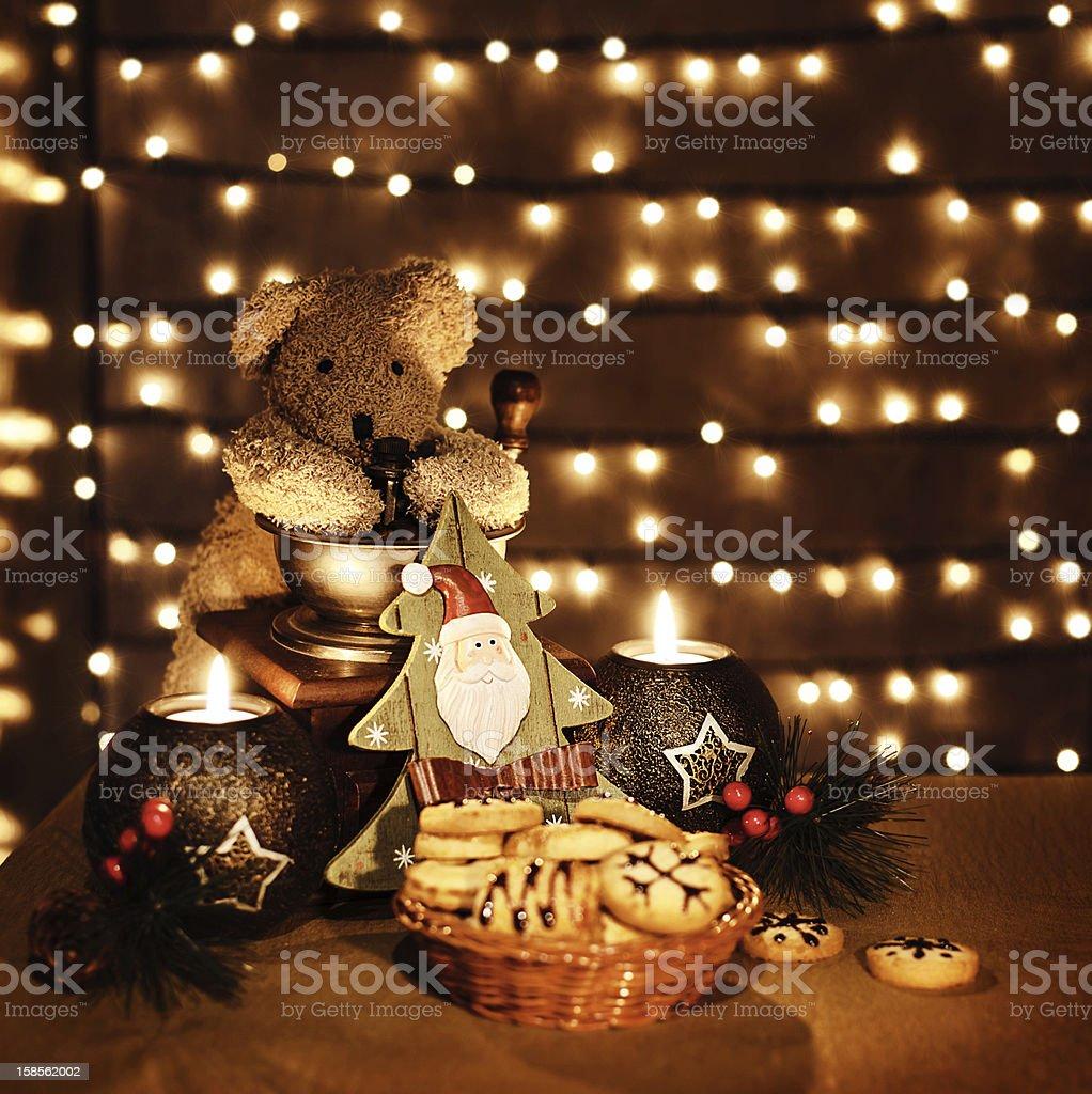 전통적인 크리스마스 장난감 royalty-free 스톡 사진