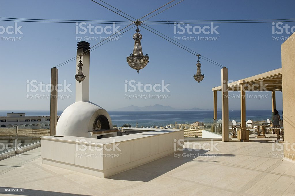 traditional clay oven royalty-free stock photo