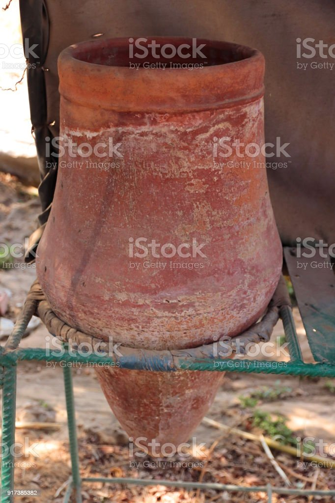 Traditional Clay Water Jug Stock Photo - Download Image Now